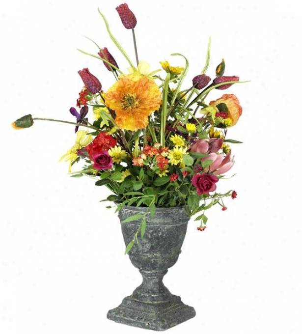 """maria Floral Arrangement - 22.5""""h, Purple"""