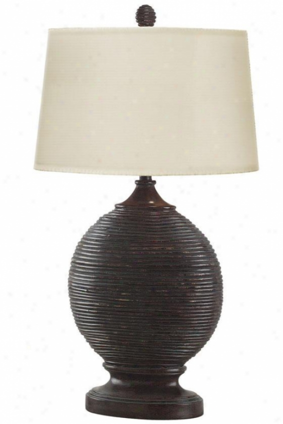 """marigot Tablr Lamp - 32""""h, Black"""