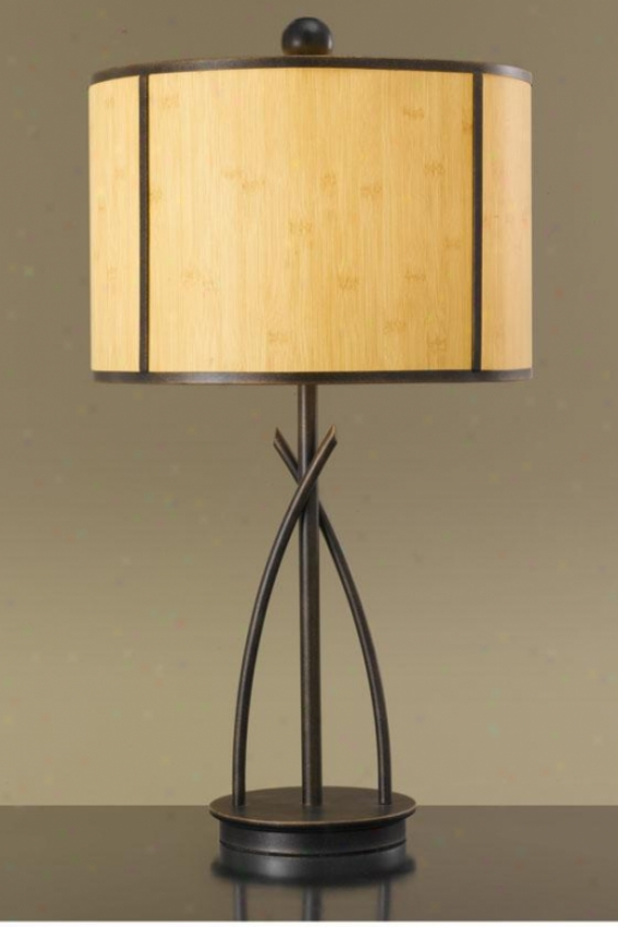 """""""marille Table Lamp - 30.5""""""""h X 16""""""""d, Gilded Bronze"""""""