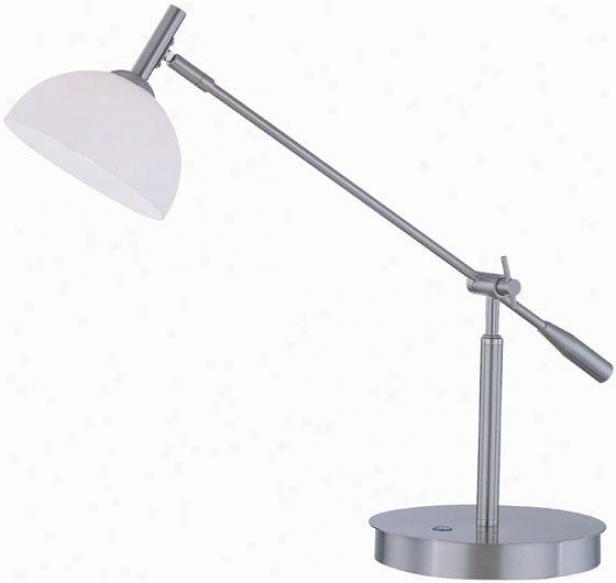 """marion Desk Lamp - 25.5""""x26.5"""",, Silver"""