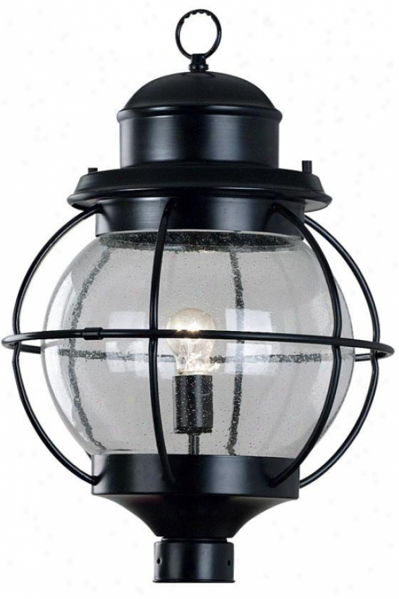 Maritime Mail Lantern - 1-light, Black