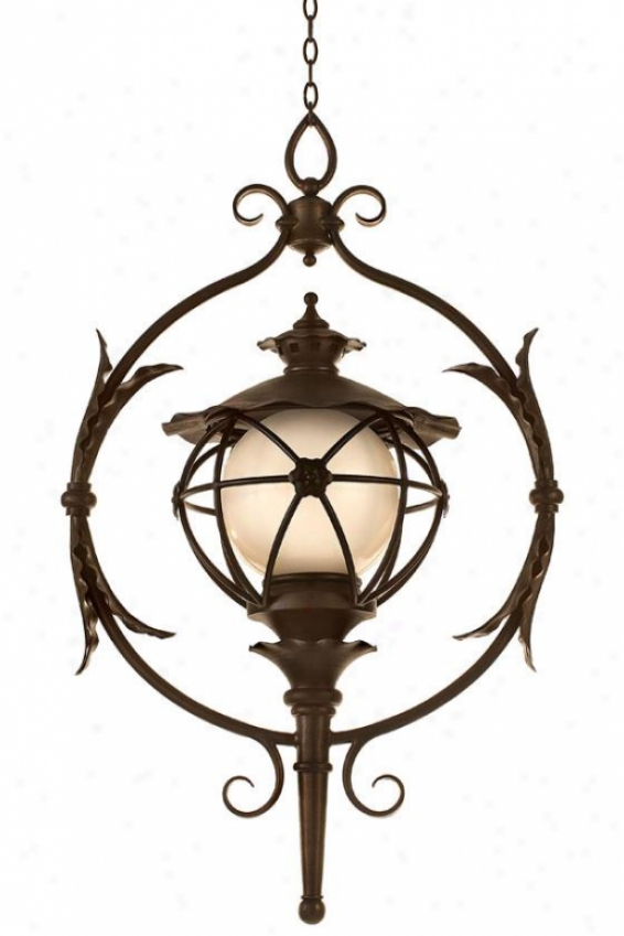 """matador Outdoor Pendant Light - 45""""h X 27.5""""w, Outdoor Bronze"""