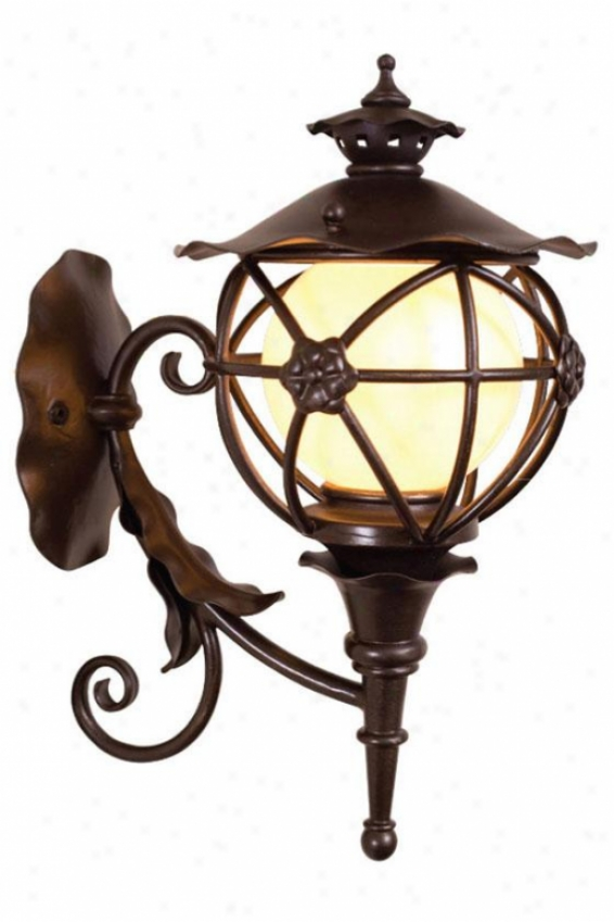 Matador Outdoor Sconce - Slender, Outdoor Bronze