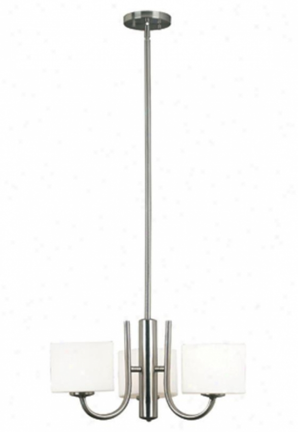 Matrielle 3-light Convertible Chandelier - Three-light, Grey Steel