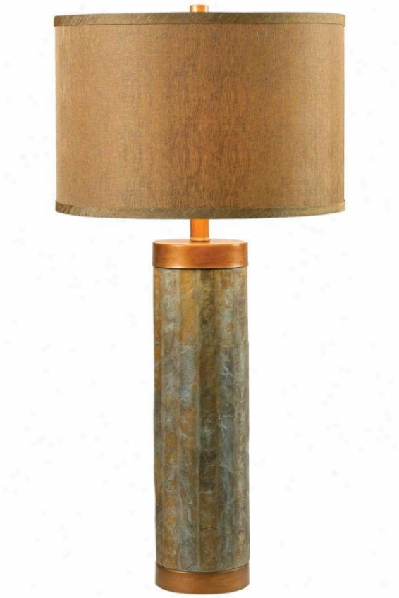 """mattias Table Lanp - 30""""h, Copper"""