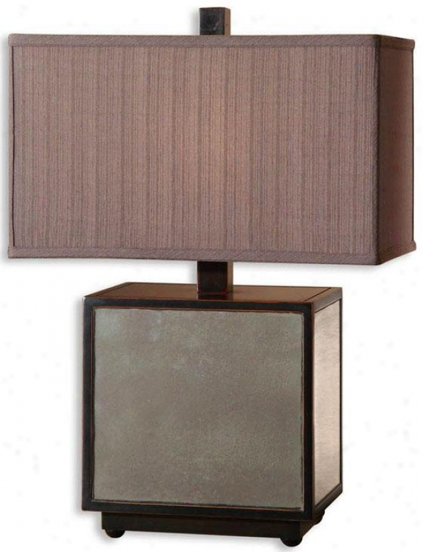 """matty Table Lamp - 26""""h, Black"""