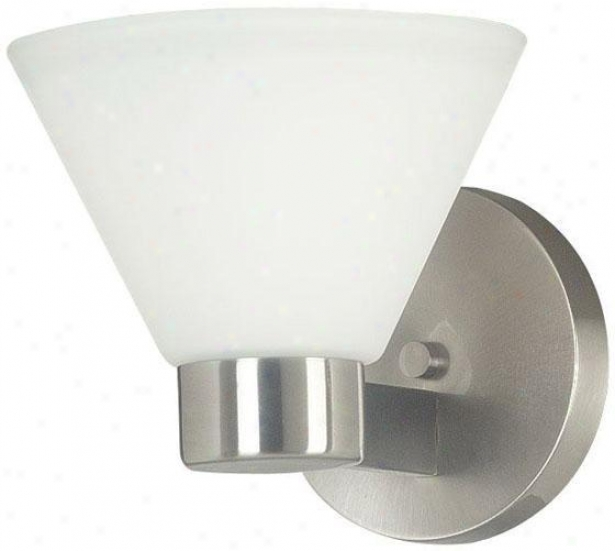 Maxwell Wall Sconce - 1-liyht, Grey Steel