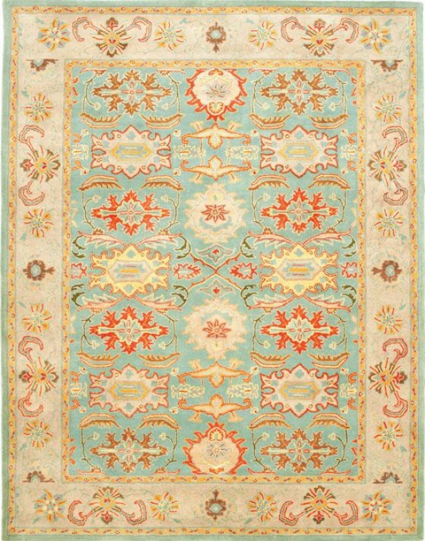 """mayfair Area Rug Ii - 2'3""""x12', Blue"""