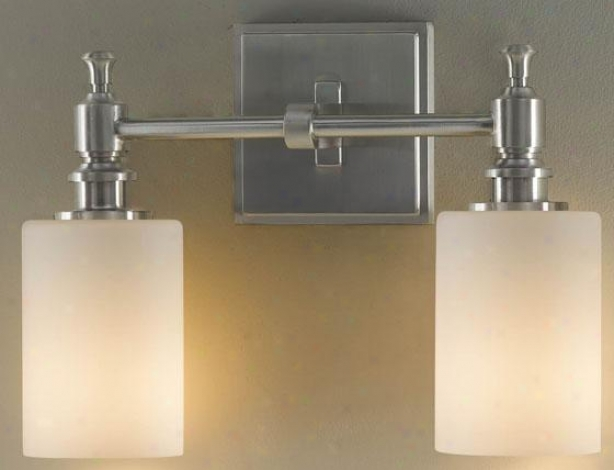 Mckinley Wall Fixture - Two Light, Grey Steel