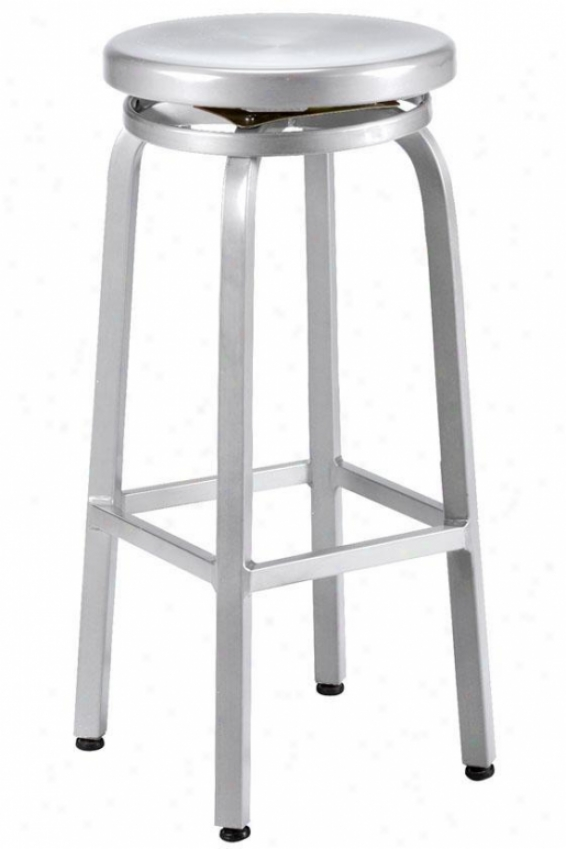 Melanie Swivel Bar Stool - Swivel, Alminum