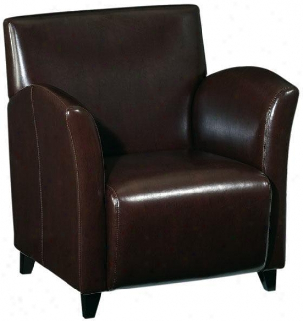 """melbourne 31""""w Club Chair - 33""""hx31""""w, Brown"""