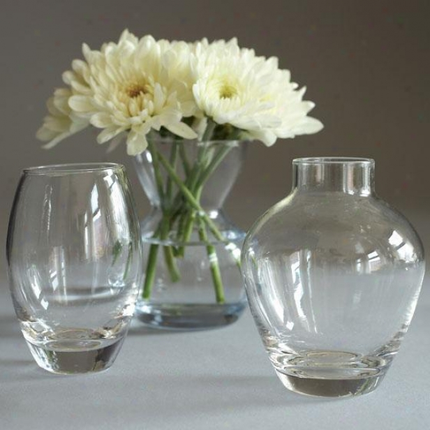 Menage A Trois Bud Vases - Set Of 3 - Set Of 3, Clear