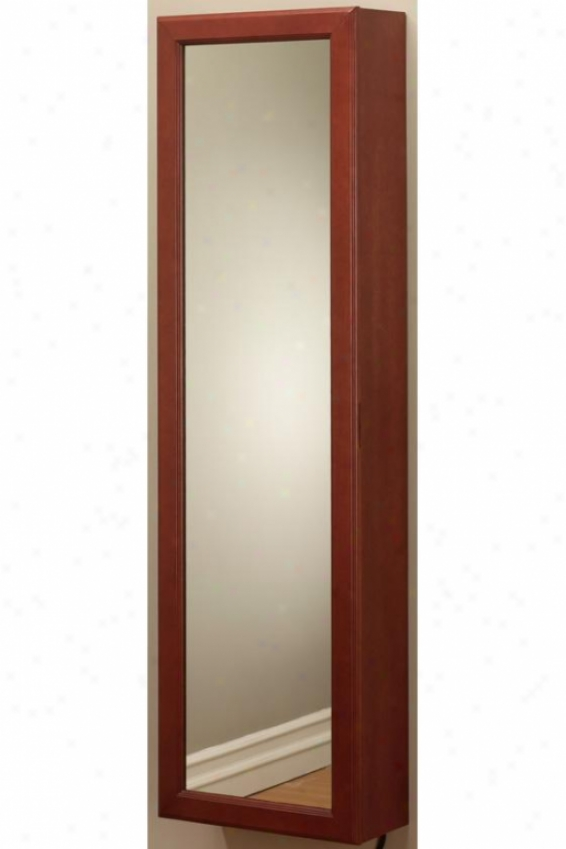 """nen's Armoire Valet Withh Charging Office - 52""""hx15""""wx6""""d, Burgundy"""