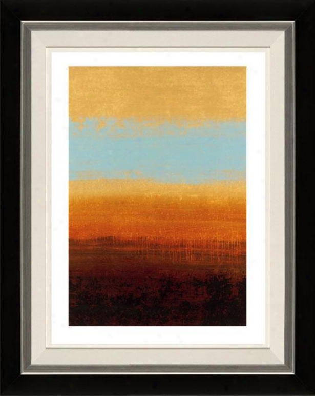 Metamorphic I Framed Wall Art - I, Flt Black/slvr