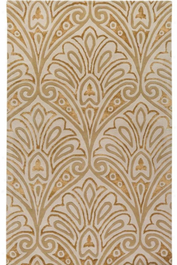 """metropolitan Collection Orleans Area Rug - 2'6""""x4'6"""", Ivory"""