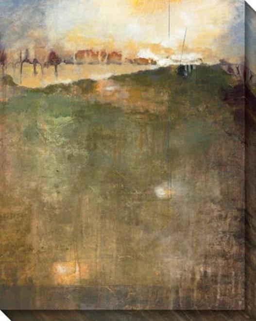 Microcosm I Canvas Wall Arrt - I, Brownn