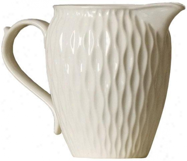 """millie Pitcher - 6""""h, Ivory"""