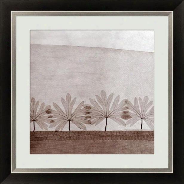 Mirage Vi Framed Wall Art - Vi, Black
