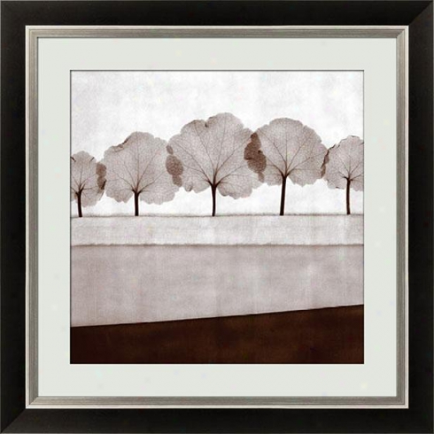 Mirage Vii Framed Wall Art - Vii, Black