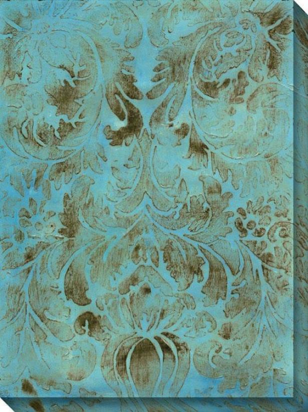 Modal Vii Canvas Wall Art - Vii/blue, Multi