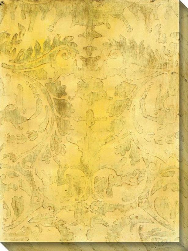 Modal Viii Canvas Wall Art - Viii/yellow, Multi
