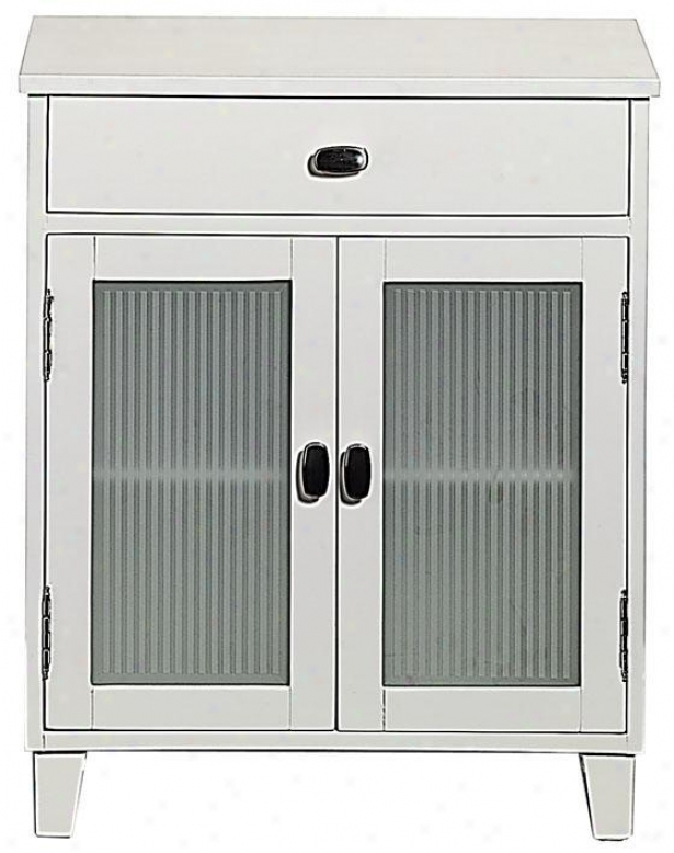 Moderna Cabinet - 2door-1drawer, Of a ~ color