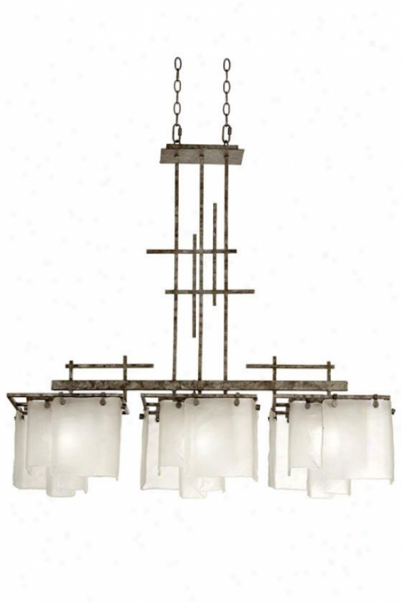 """modisty 40""""h Pendant - Thrre Light, Bakersfield"""