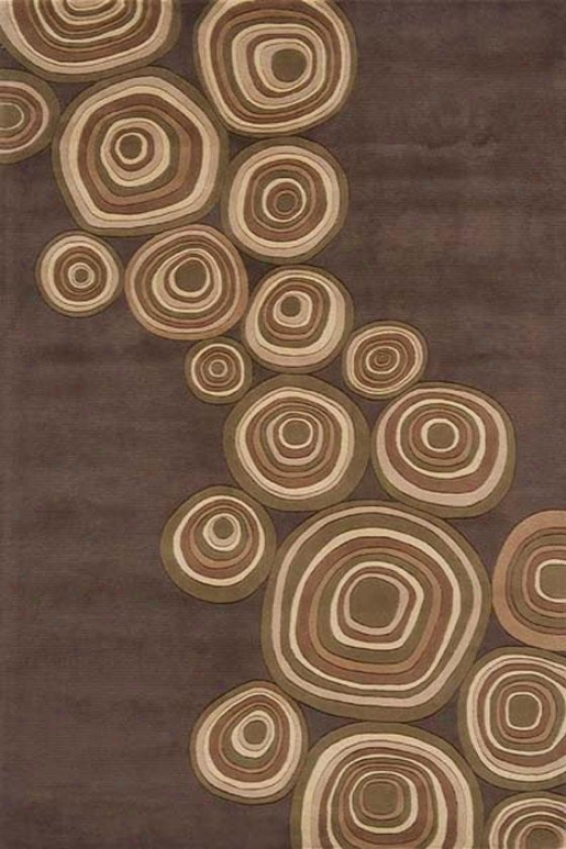 """""""momeni Spinner Superficial contents Rug - 3'6""""""""x5'6"""""""", Tan"""""""