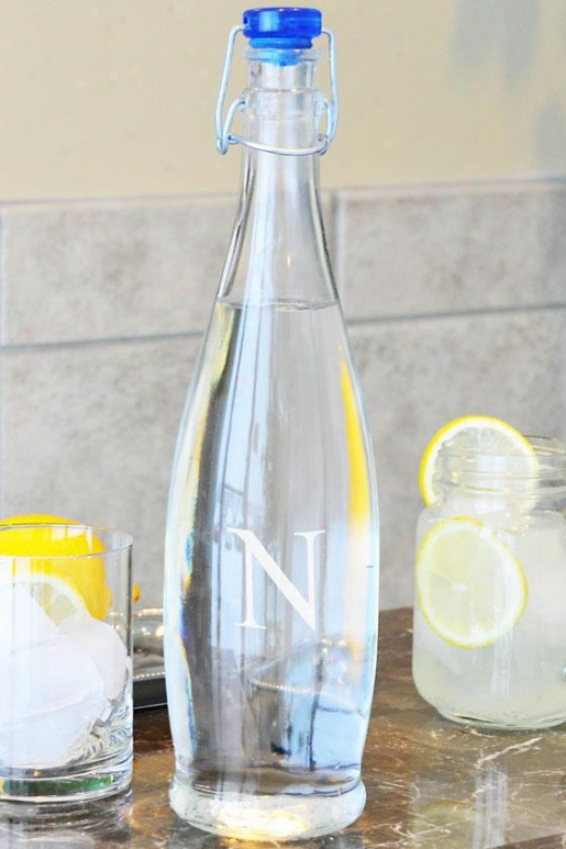 Monogram Decanter Water Bottle - 33.75oz, M