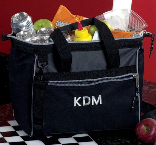 """monogram Deluxe Cooler - 14""""wx12""""h, Black"""
