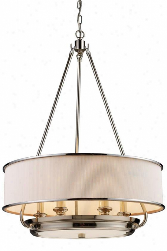 Monroe Pendelier - 6-light, Steel Gray Nickel