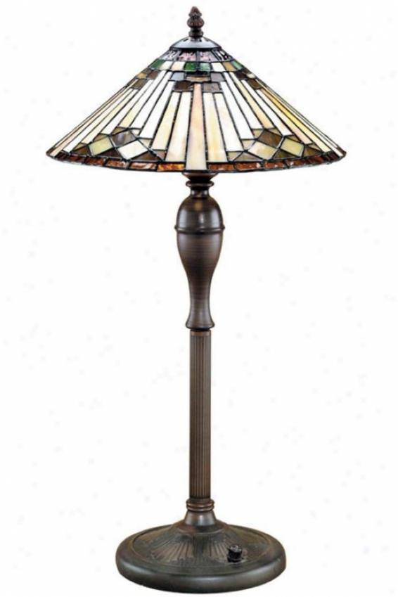 """""""moonstruck Table Lamp - 24.5""""""""xh14""""""""d, Bronze Bronze"""""""
