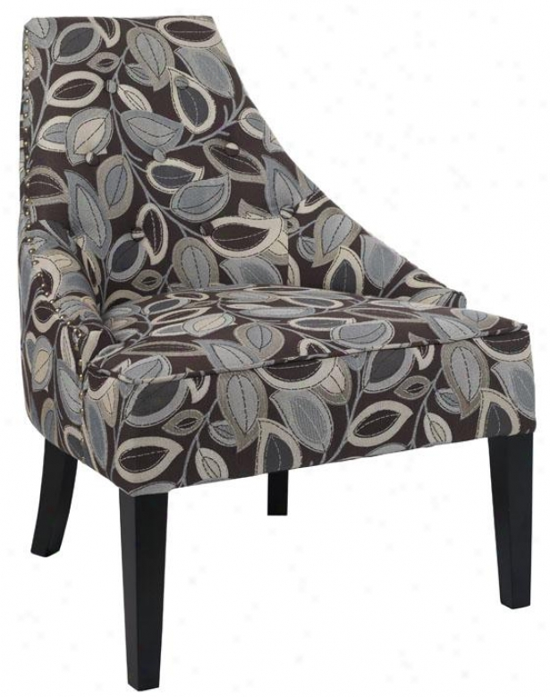 """morgan Accent Chair - 33""""hx26""""""w, Trning Lvs Erth"""