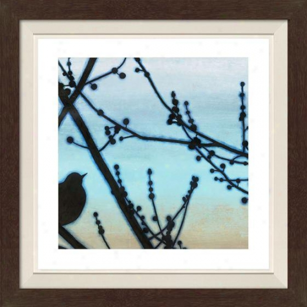 Morning Song I Framed Wall Art - I, Fltd Espresso