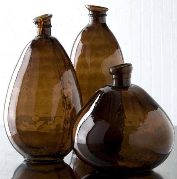 Morph Vase - Tall, Chocolate Brown