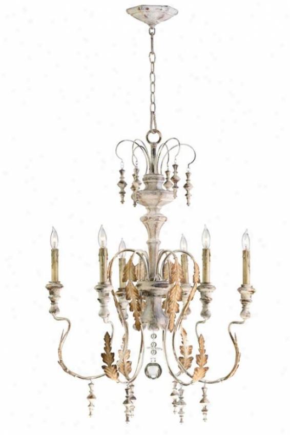 Motivo Chandelier - 6-light, Persian White