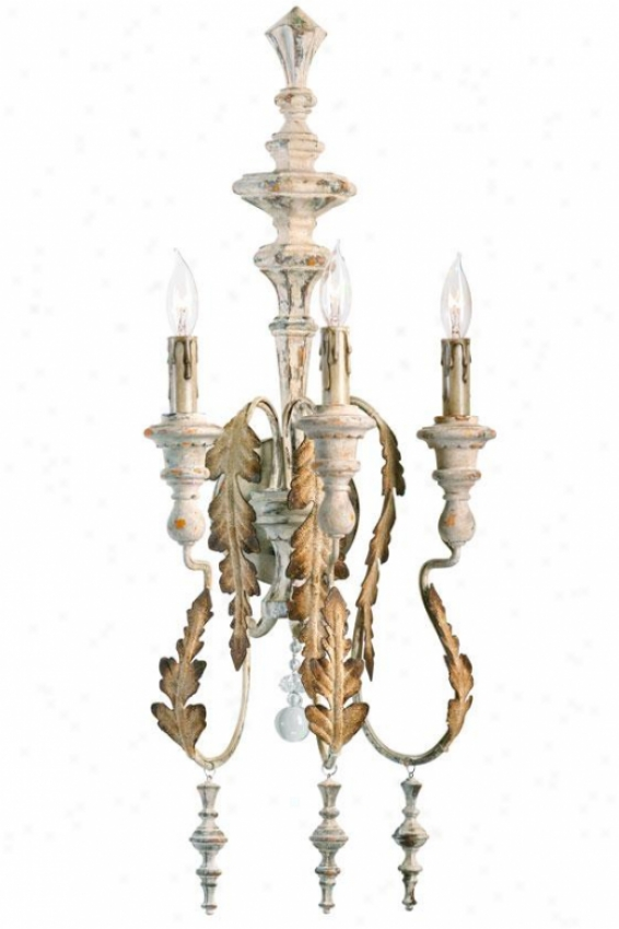 Motivo Sconce - 3-light, Persian White