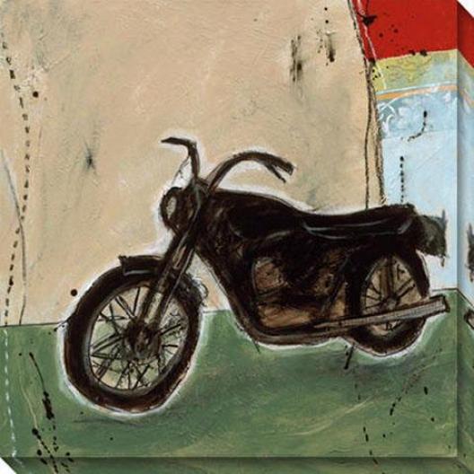 """""""motorcycle I Canvas Wall Art - 40""""""""hx40""""""""w, Multi"""""""