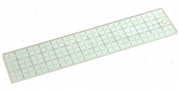 """msl Craft Ruler - 14 X 3"""", Clear"""
