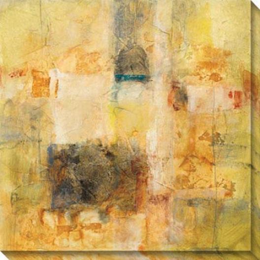 Mysterious Ways I Canvas Wall Art - I, Yellow