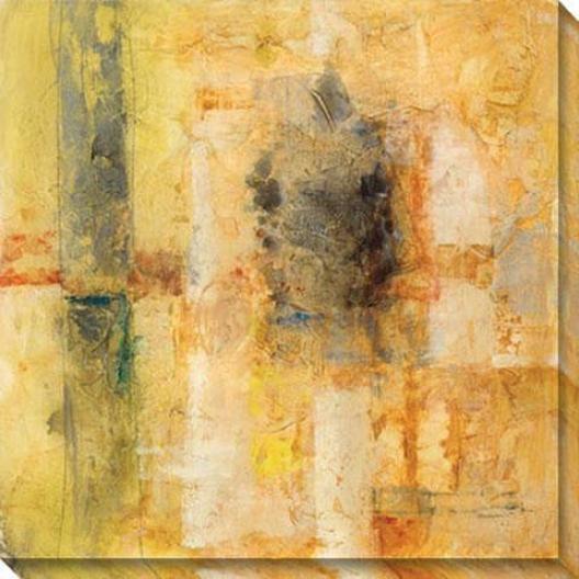 Mystdrious Ways Ii Canvas Wall Art - Ii, Yellow