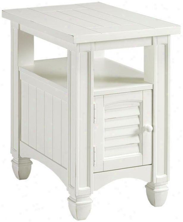 Nantucket Accent Table - Accent, White