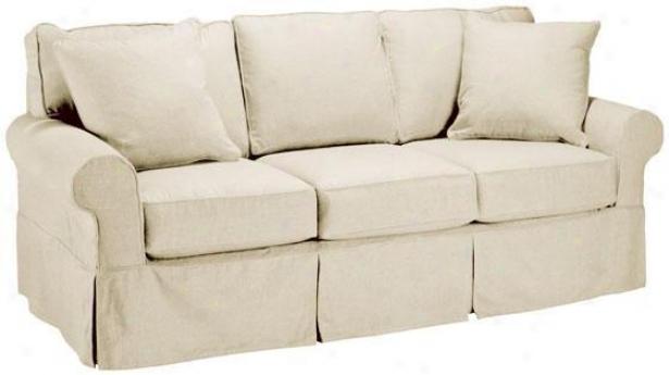 Nantucket Slipcover 3-seater Sofa - Slpcvr Sleeper, Twill Natural