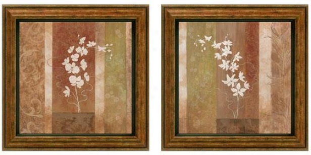 Nature's Silhouette Framed Wall Art - Determined Of 2 - Set Of Two, Earthtones