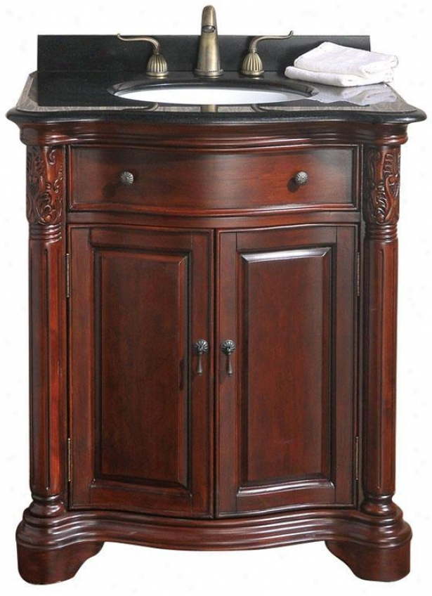 """naylor Bathroom Vanity - 31""""w, Black"""