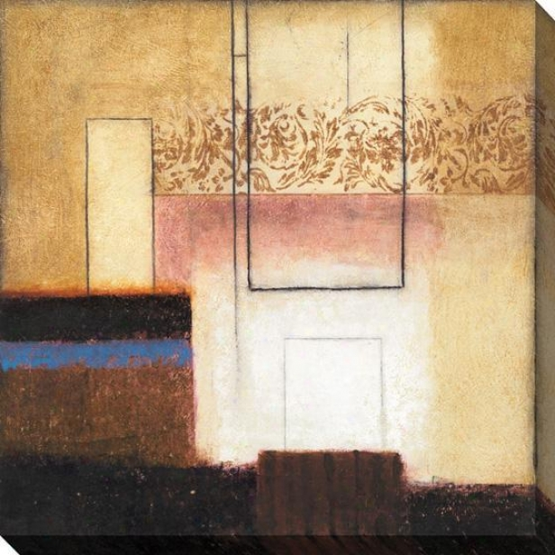 New Haven Ii Wall Art - Canvas, Brown