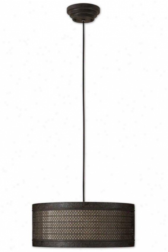 New Orleans Death by the halter Shade - 3 Light, Black