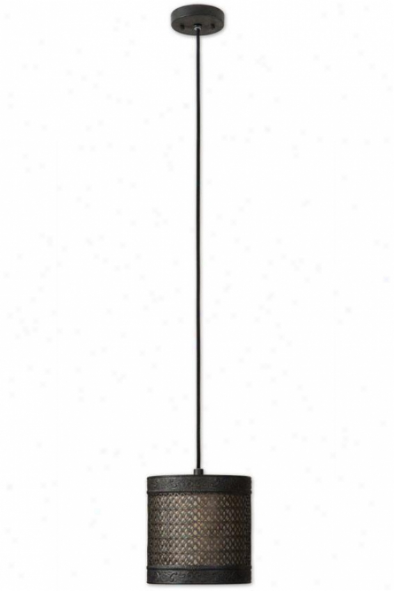 New Orleans Mini Shade - 1 Light/mihi, Black