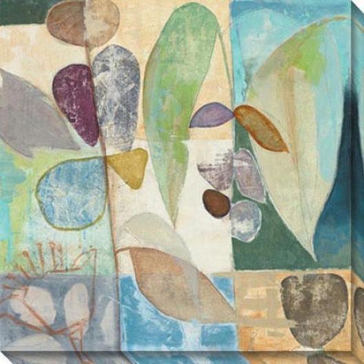 New Tropic I Canvas Wall At - I, Pastl