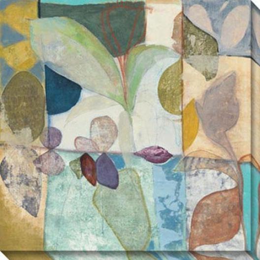 New Tropic Ii Canvas Wall Art - Ii, Pastel